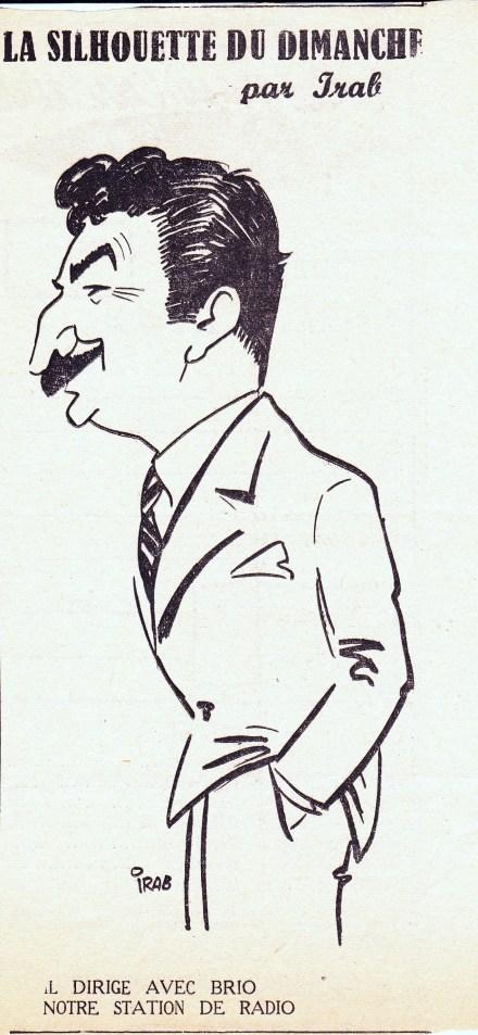 1954 FJT secrétaire général des émissions de Radio-Montpellier
