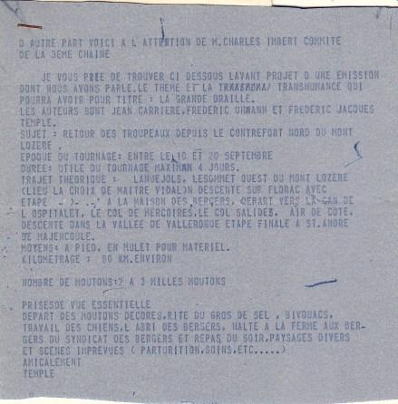 1972 La Grande Draille
