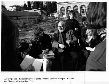 1991 DETOURER SVP FJ Temple jardin des plantes Annie Estèves