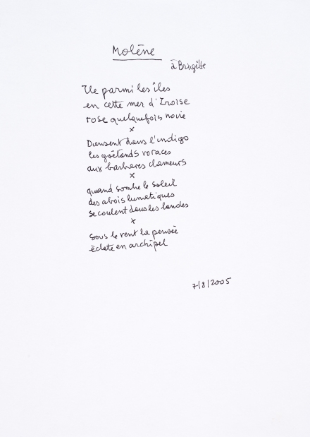 FJTEMPLE 15 FRED8291 Molène (poème à Brigitte) 2005