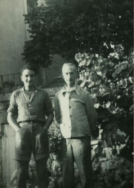 Première visite à Joseph Delteil 1948
